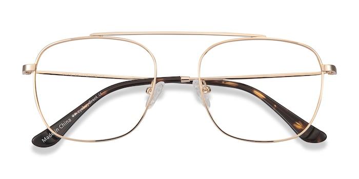 Golden Moxie -  Lightweight Metal Eyeglasses