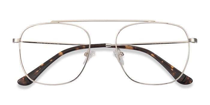 Silver Moxie -  Vintage Metal Eyeglasses