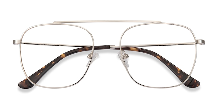 Silver Moxie -  Metal Eyeglasses