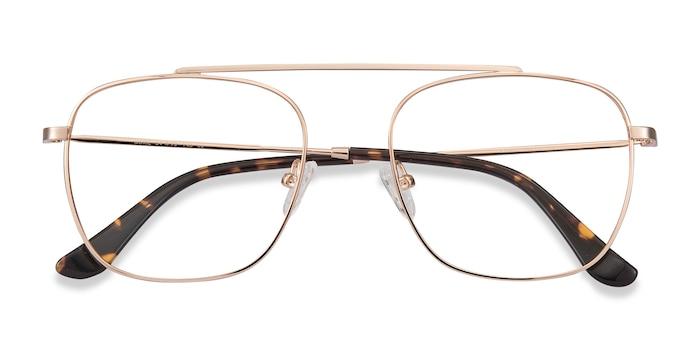 Rose Gold Moxie -  Vintage Metal Eyeglasses