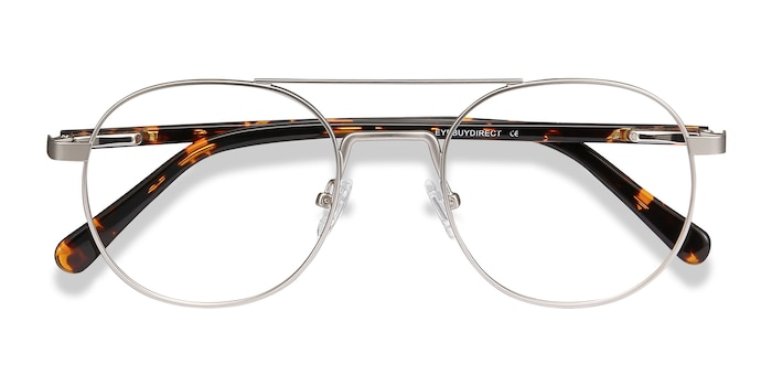 Silver Lock XL -  Metal Eyeglasses