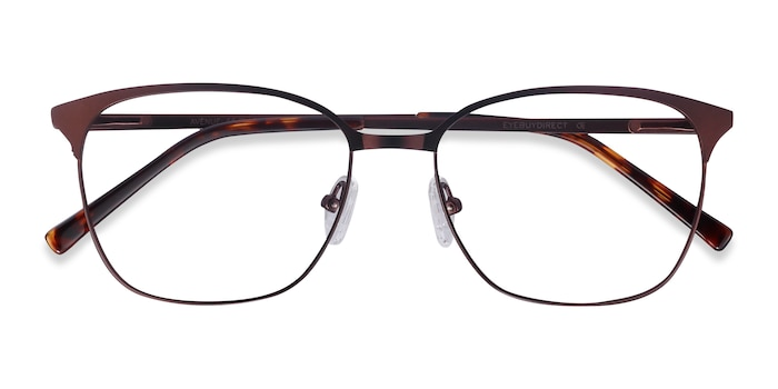 Brown Avenue -  Metal Eyeglasses