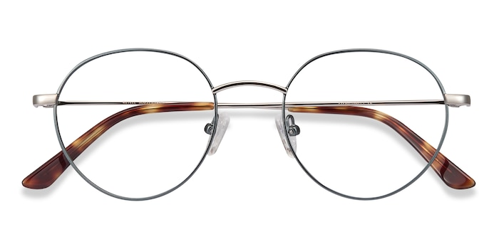 Green Retell -  Metal Eyeglasses
