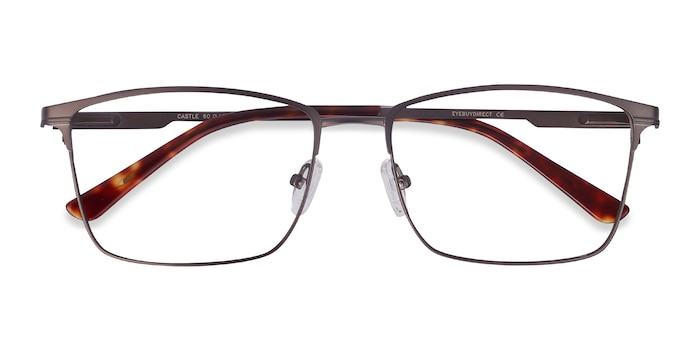 Gunmetal Castle -  Metal Eyeglasses
