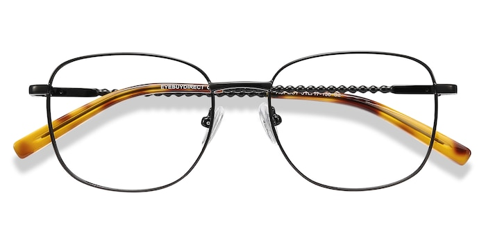 Black Aspect -  Metal Eyeglasses