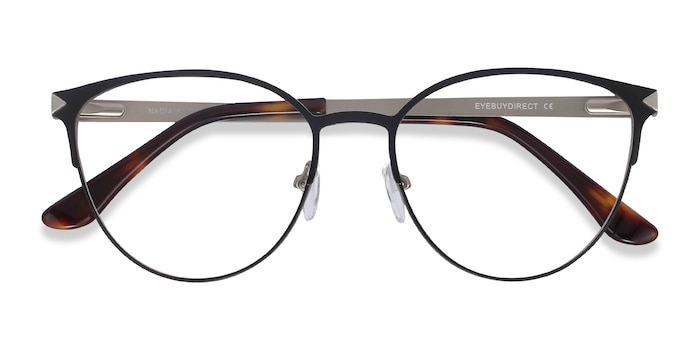 Black Nadia -  Metal Eyeglasses