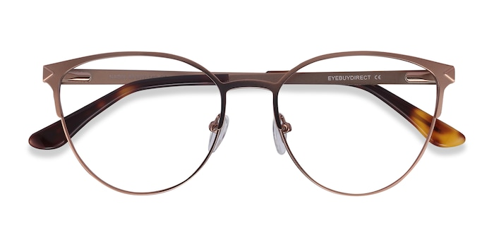 Rose Gold Nadia -  Fashion Metal Eyeglasses
