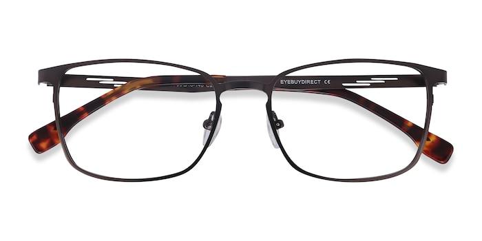 Gunmetal Dakota -  Metal Eyeglasses