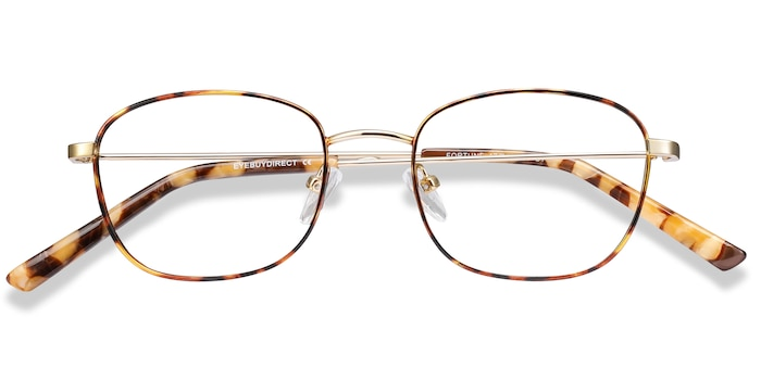 Tortoise Fortune -  Lightweight Metal Eyeglasses