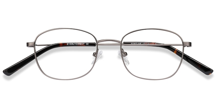 Gunmetal Fortune -  Metal Eyeglasses