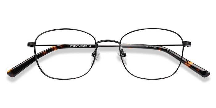 Black Fortune -  Metal Eyeglasses