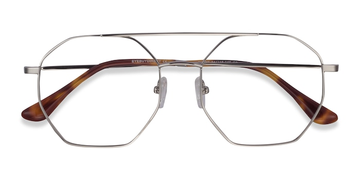 Silver Eight -  Fashion Metal Eyeglasses