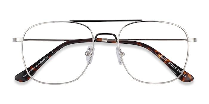 Silver Fame -  Fashion Metal Eyeglasses