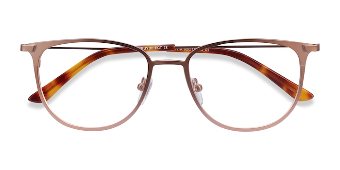 Rose Gold Vita -  Metal Eyeglasses