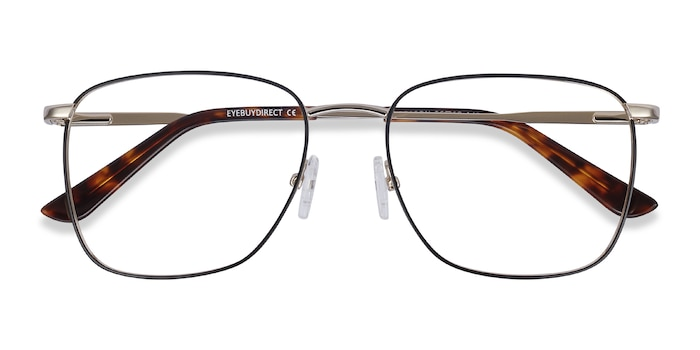 Black Gold Reason -  Metal Eyeglasses