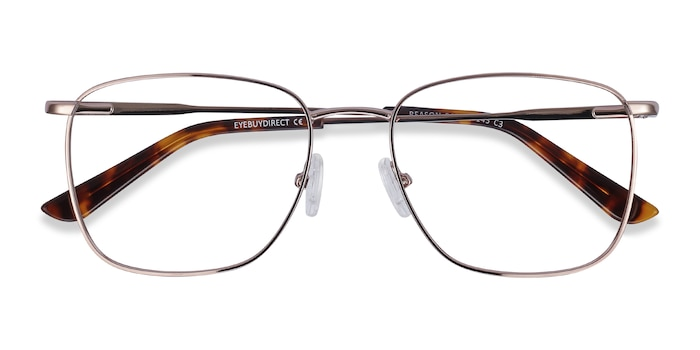 Rose Gold Reason -  Fashion Metal Eyeglasses