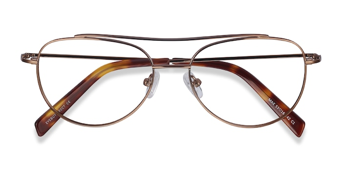 Brown Max -  Lightweight Metal Eyeglasses