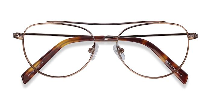 Brown Max -  Vintage Metal Eyeglasses