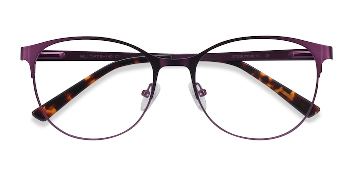 Purple Kali -  Fashion Metal Eyeglasses