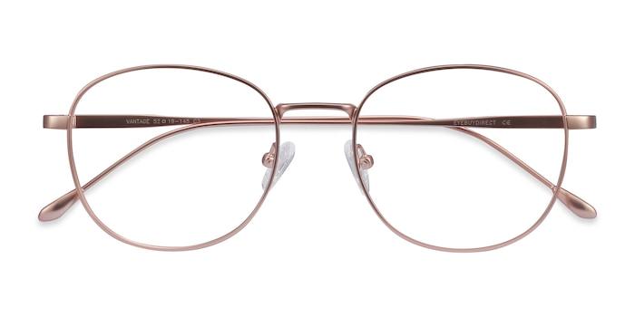 Rose Gold Vantage -  Vintage Metal Eyeglasses