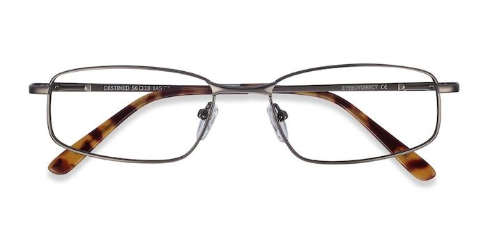 Gunmetal Destined -  Metal Eyeglasses