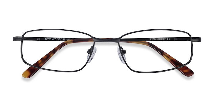 Black Destined -  Metal Eyeglasses