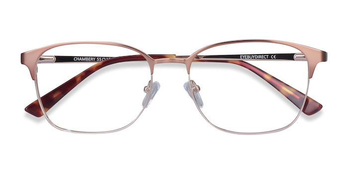 Rose Gold Chambery -  Metal Eyeglasses
