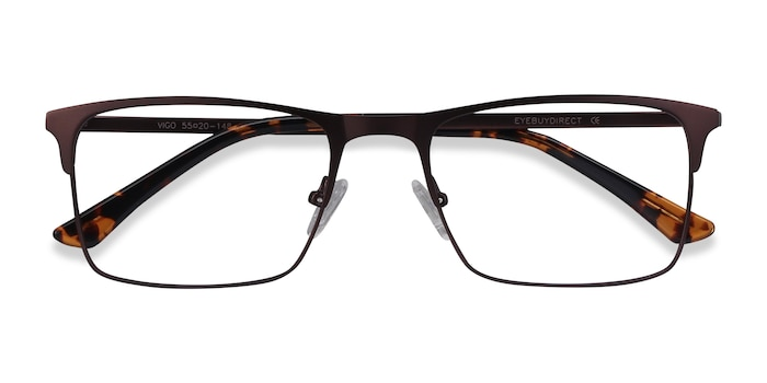 Coffee Vigo -  Metal Eyeglasses