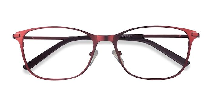 Red Modena -  Metal Eyeglasses