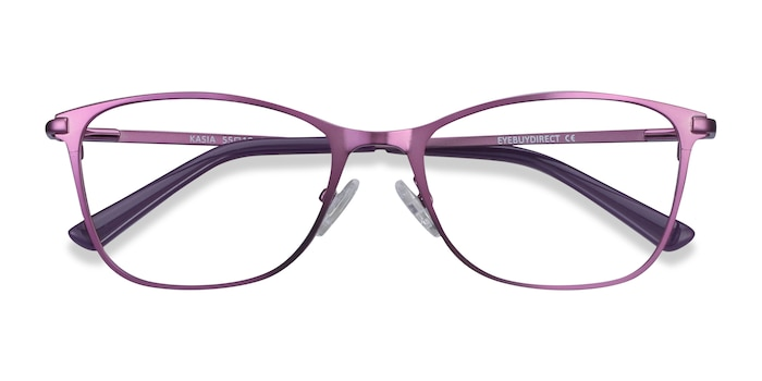 Purple Kasia -  Fashion Metal Eyeglasses
