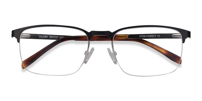 Black Valery -  Metal Eyeglasses