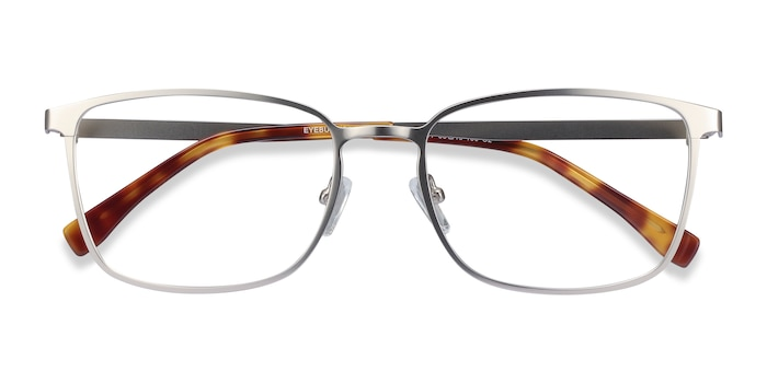 Silver Strategy -  Metal Eyeglasses