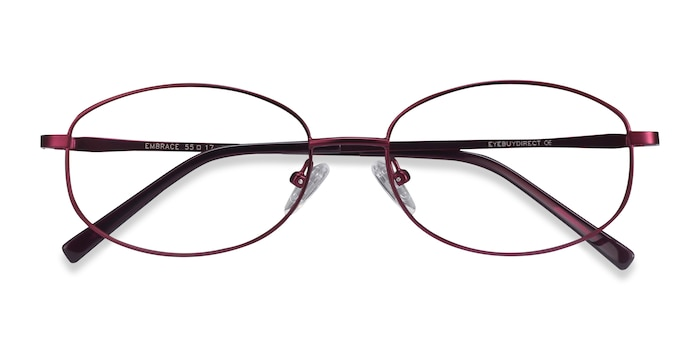 Purple Embrace -  Lightweight Metal Eyeglasses