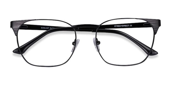 Black Soulist -  Metal Eyeglasses