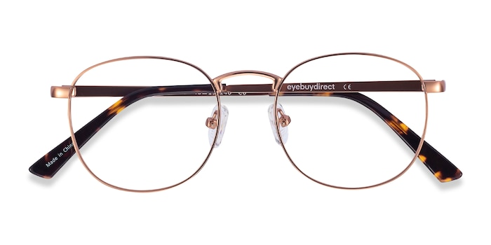 Rose Gold St Michel -  Metal Eyeglasses