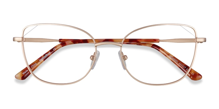 Gold Moment -  Lightweight Metal Eyeglasses