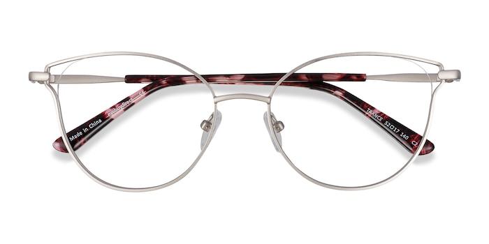Silver Trance -  Fashion Metal Eyeglasses
