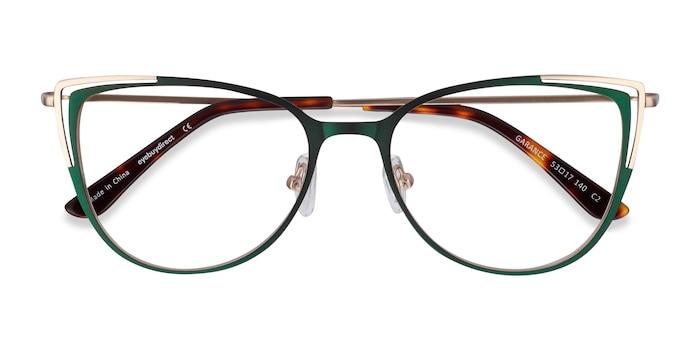 Green & Gold Garance -  Fashion Metal Eyeglasses