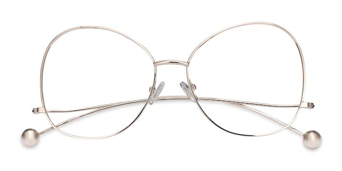 Gold Renata -  Fashion Metal Eyeglasses