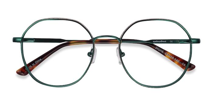 Green Sylvie -  Metal Eyeglasses