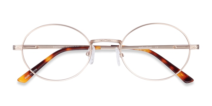 Gold Equinox -  Lightweight Metal Eyeglasses