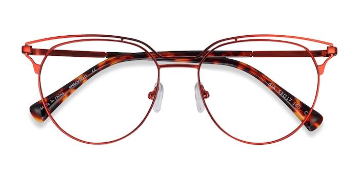 Red Gia -  Fashion Metal Eyeglasses