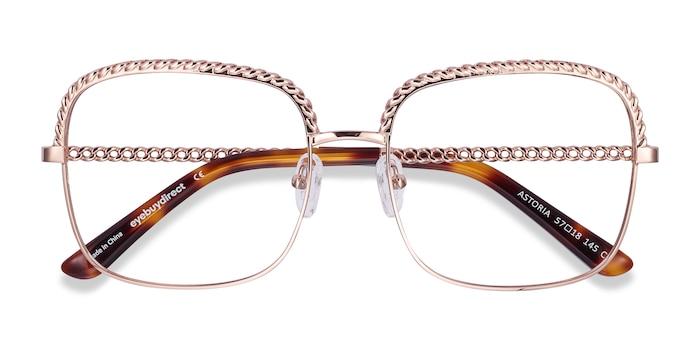 Rose Gold Astoria -  Fashion Metal Eyeglasses