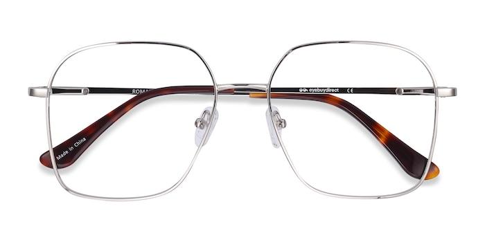 Silver Roman -  Lightweight Metal Eyeglasses