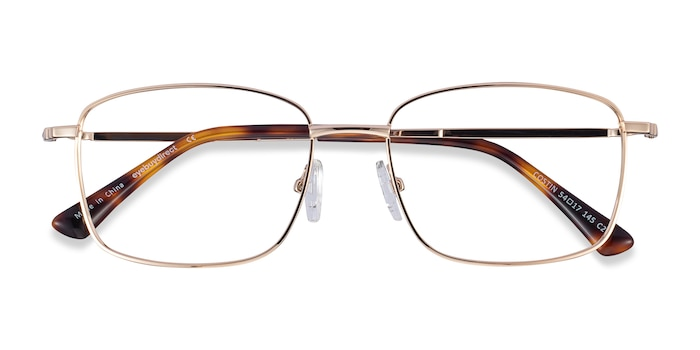 Gold Costin -  Lightweight Metal Eyeglasses