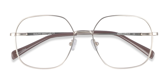 Gold Reality -  Lightweight Metal Eyeglasses