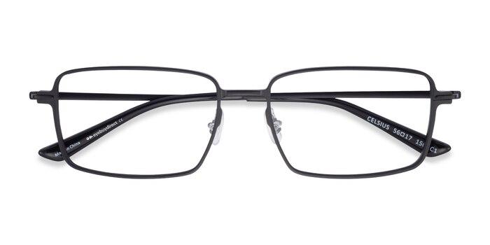 Black Celsius -  Aluminium Alloy Eyeglasses