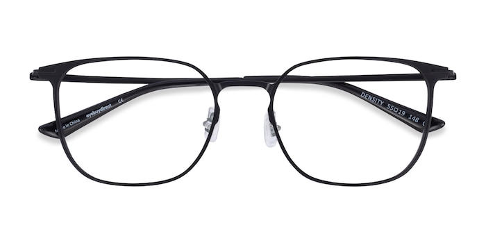 Black Density -  Aluminium Alloy Eyeglasses