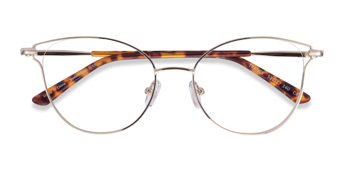 Light Gold Trance -  Metal Eyeglasses