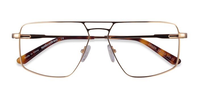 Gold Orson -  Metal Eyeglasses
